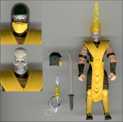 mortal kombat scorpion. Sword- Mortal Kombat/ Xyber 9
